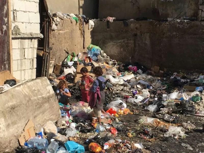 children-trash