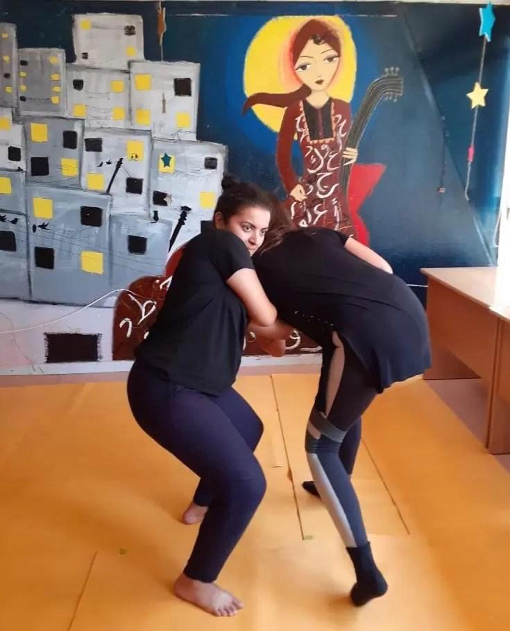 Un apprentissage de leurs forces physique et mentale