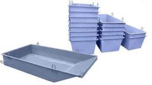Ящики для раствора и строительных смесей