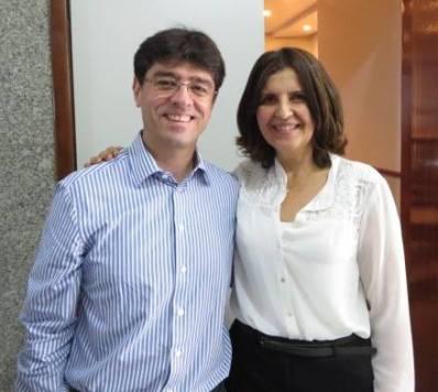 Ricardo Carmo e Maria Cristina Dias