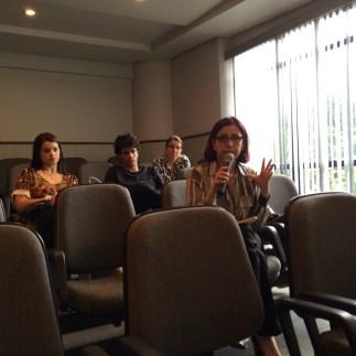 Comentário da plateia: Thereza Cristina Paione Rezende (membro efetivo e analista didata da SPMG)