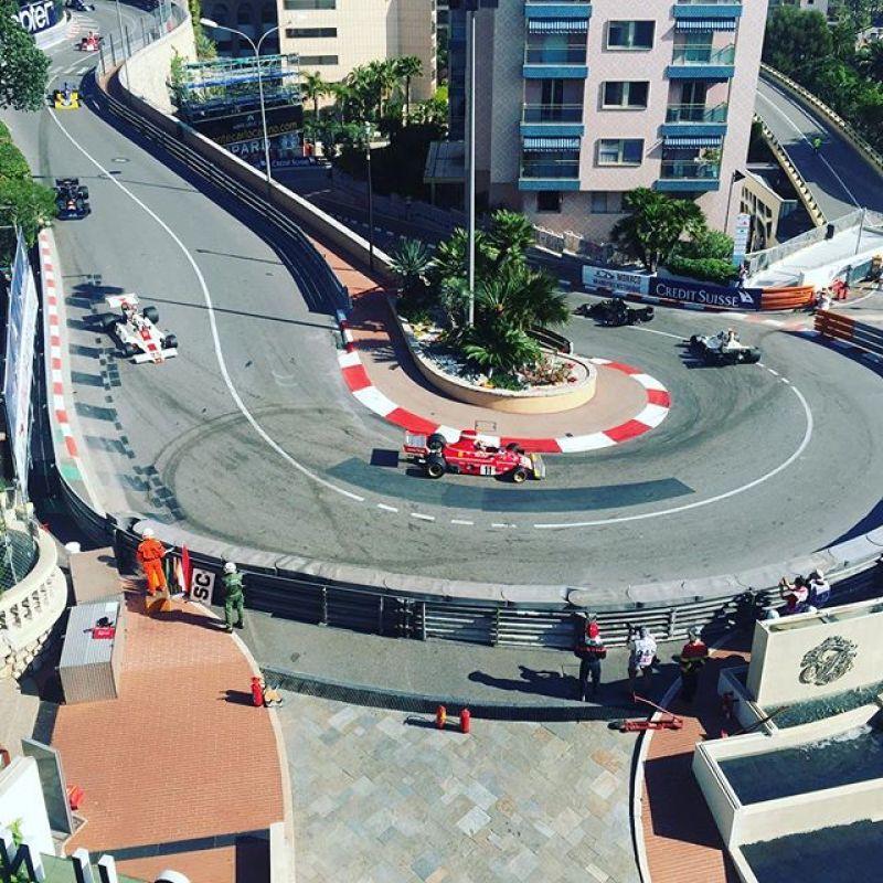 Great view from our hotel roof too! #sbraceengineering #ferrari #nikiluada #sbr #sbrace #monaco #fairmonthotel