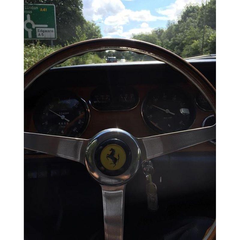 Just cruising, guess the car!? ...#ferrari #classic #sunday #summertime