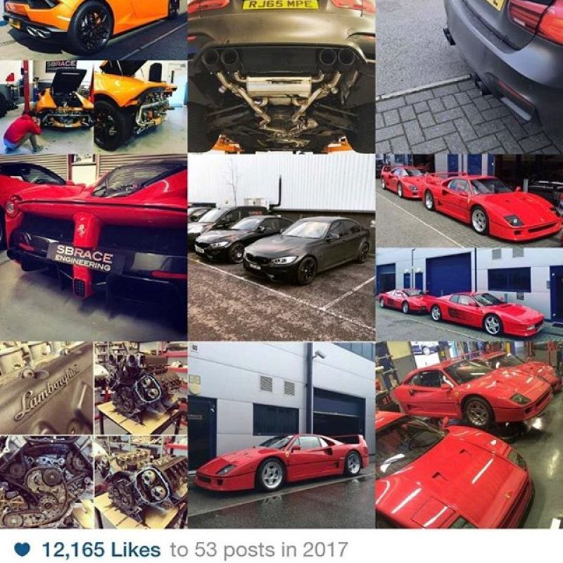 Apparently our best nine pictures of 2017 on IG. Looking forward to better ones next year.Happy New year from all the team at SBR....#2017bestnine #sbr #sbrace #sbraceengineering #ferrariracing #ferrari #lamborghini #bmwm3 #bmwmpower #paulwallace #supercarsoflondon #488challenge #newracecar #2018 #happynewyear