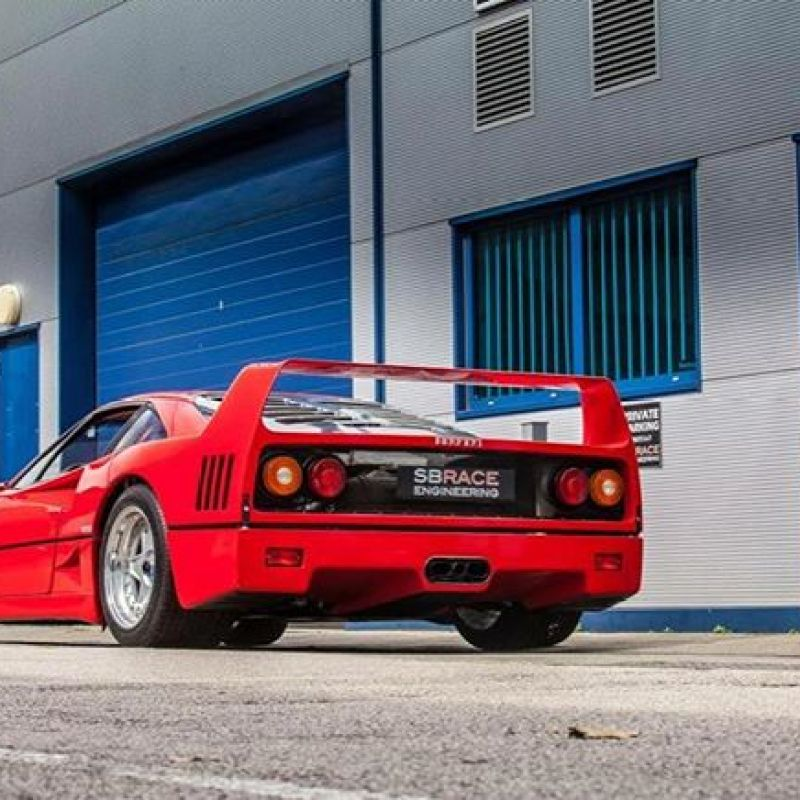 No matter how many we see, regulars or new customers, there's always something special about an F40..... #ferrari #ferrarif40 #40years #icon #v8 #turbo #twinturbo #original #supercar