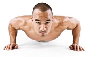 pushup man