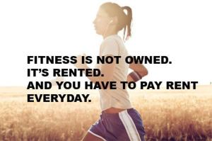 fitness isnt