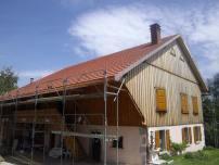 Rénovation à St Jean Tholome