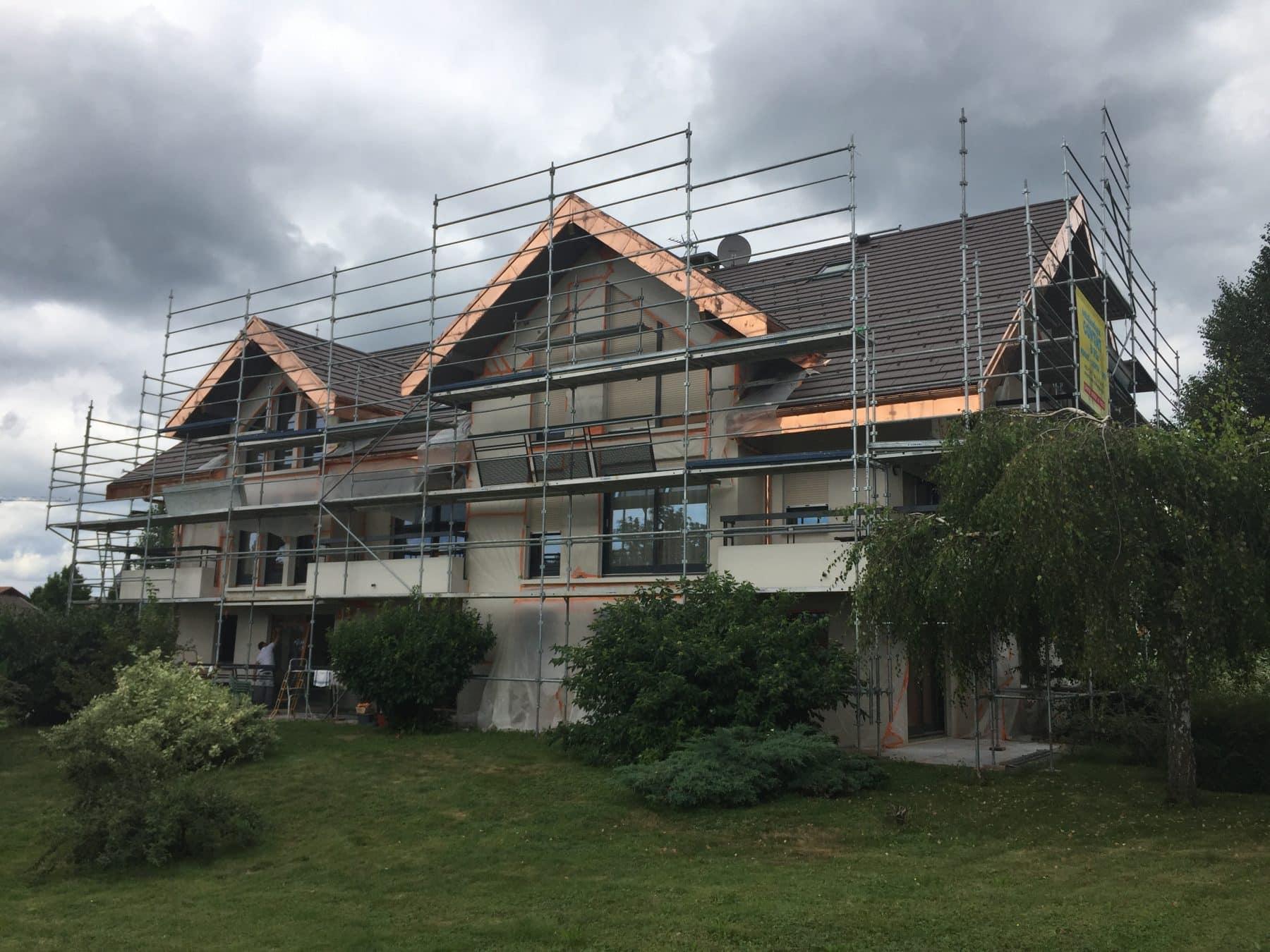Rénovation thermique immeuble Villaz