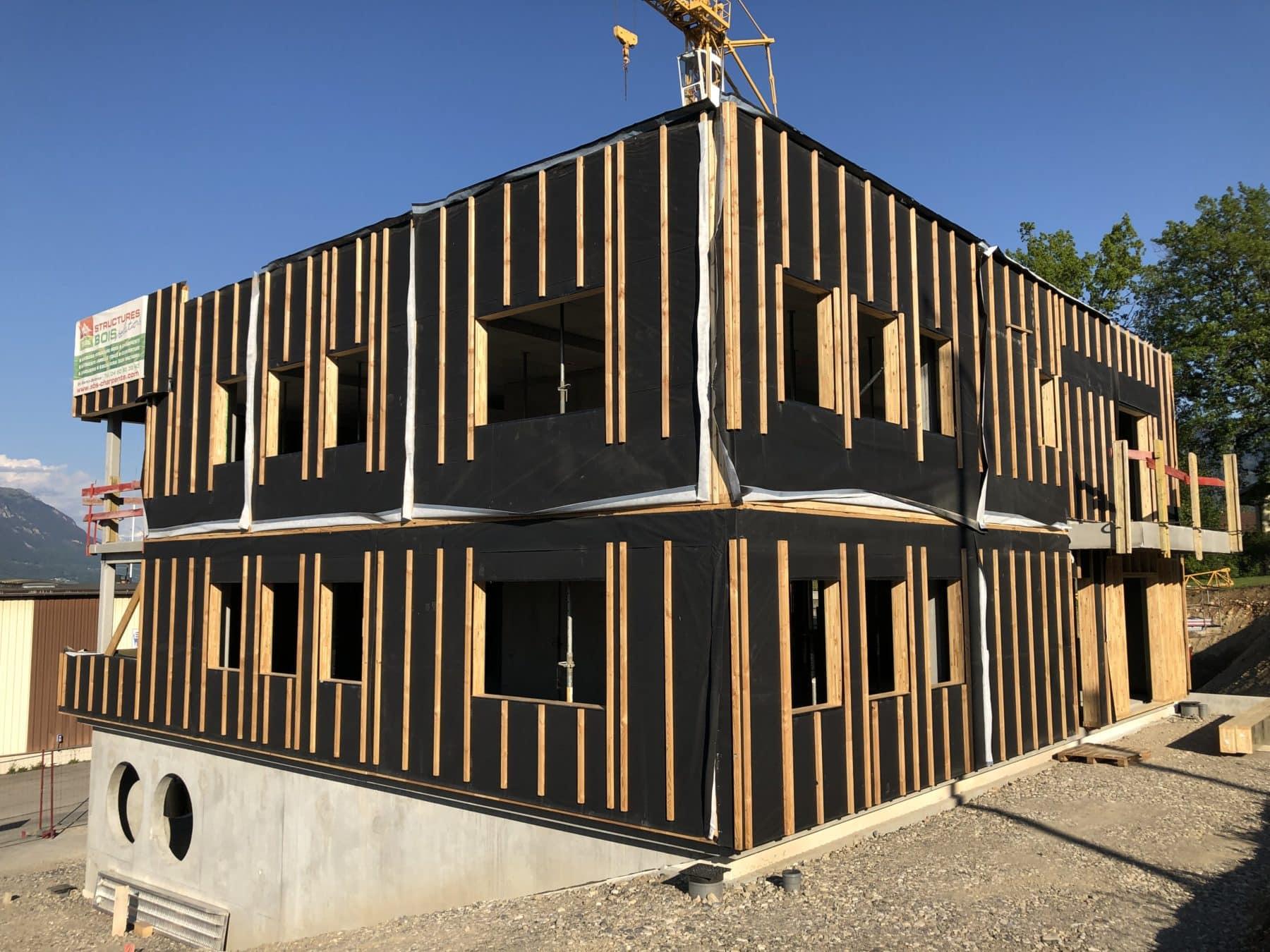 Murs Rideaux Bât. Bureaux La Roche Sur Foron