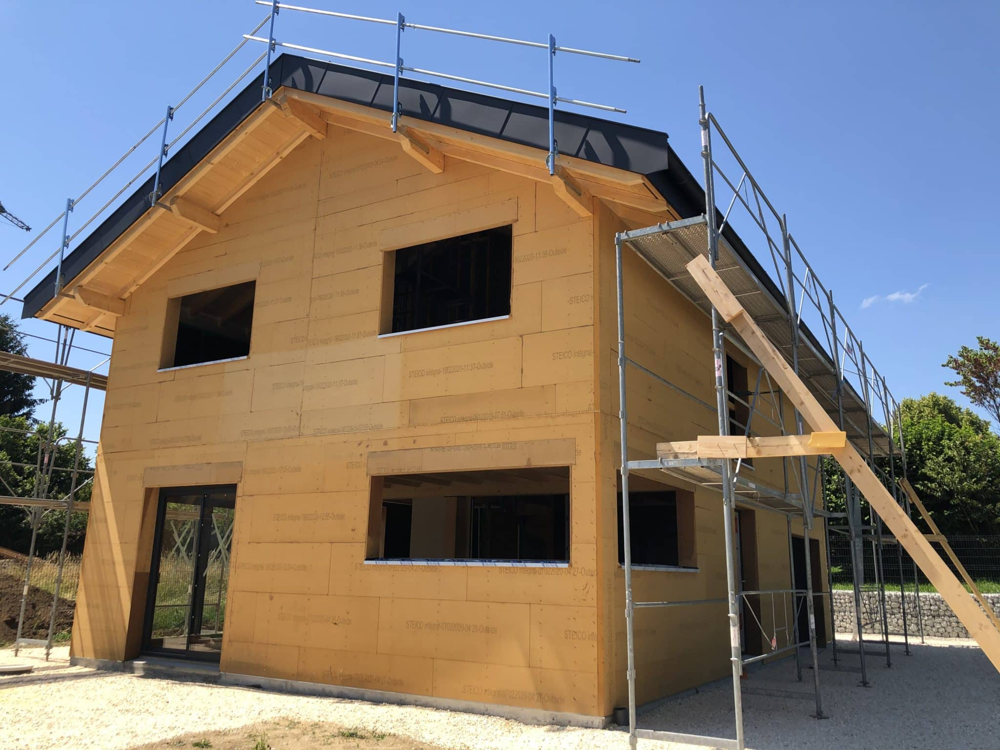 Maison Ossature Bois à Groisy