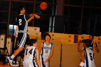 Marco Masakayan throws a no-look pass