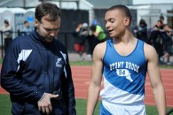 Coach Jake Morley and Colucci