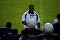 Coach Ryan addresses his team