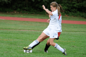 This hustle play by Morgan Pius led to Stony Brook's equalizer