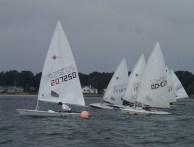 Martin wins a start with Gallipeau right behind (Photo credit: G. Linzee)