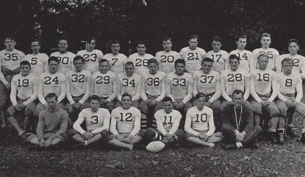 The '38 Stony Brook football squad (Medd - #19)