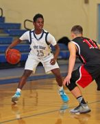 Brandon Providence handled Pierson's pressure beautifully today