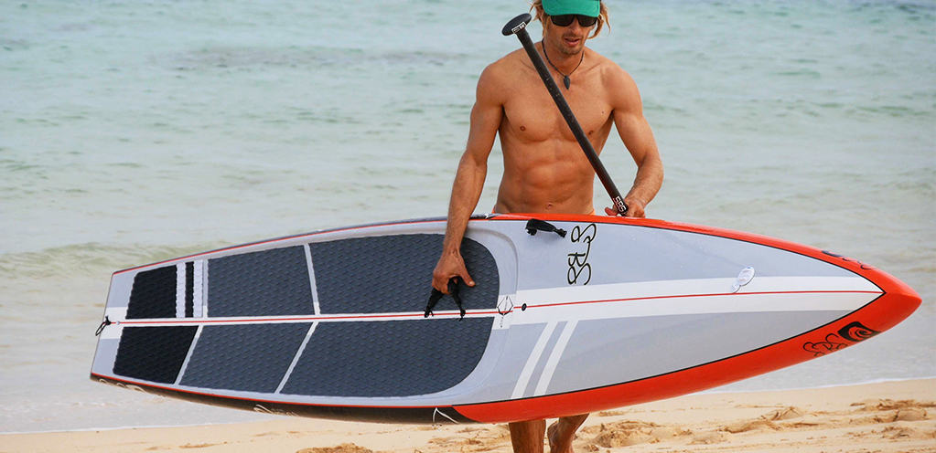 The Ultimate in Flat Water Racing SUP