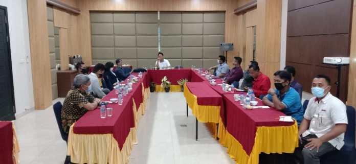 Rapat Dewan pengupahan Provinsi Kalimantan Utara tahun 2021