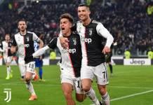 Tangkapan layar Twitter Juventus FC