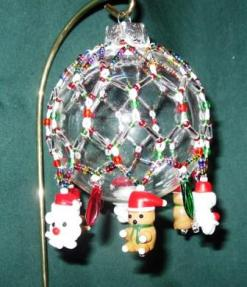 Edie's Ornament tatted by Lois Bresnahan