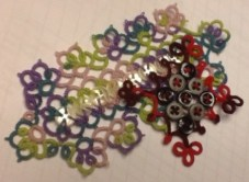 Buttons of Fun with Davina Achen This class will cover the multiple wonderful uses of buttons to enhance your tatting.