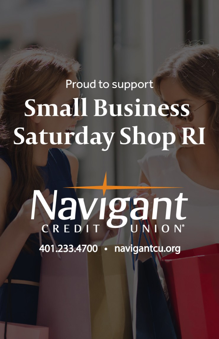 Navigate Credit Union is proud to support Small Business Saturday Shop RI 2017