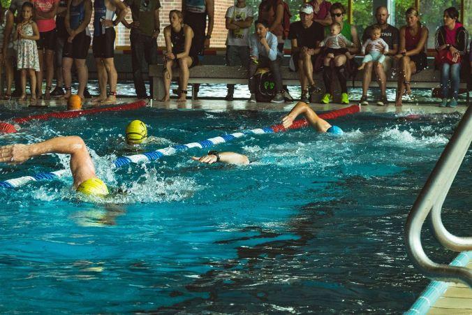 Triathlon Goldener Hut Schifferstadt 2017 - Schwimmen