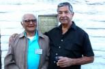 Ernie and Tony Pico at the Pico Adobe. Photo by Baron Erik Stafford.