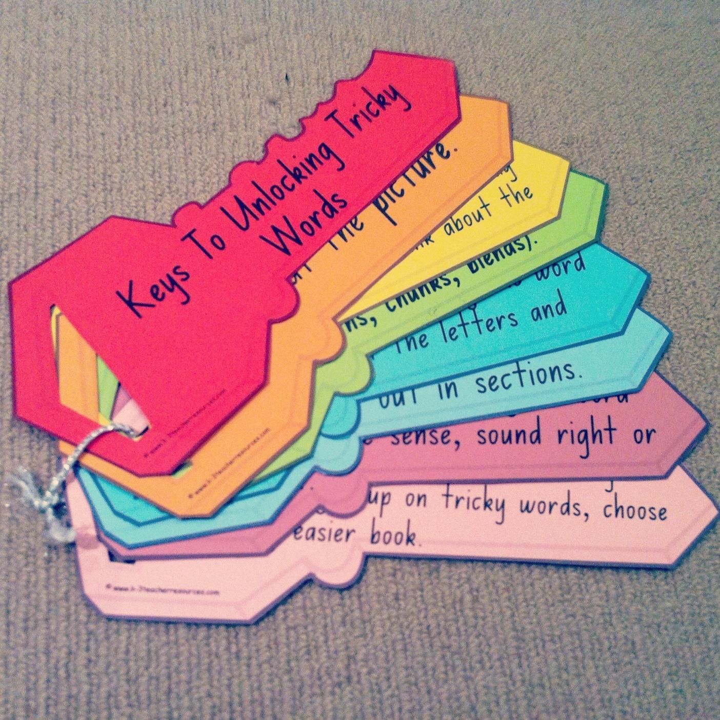 Keys To Unlocking Tricky Words