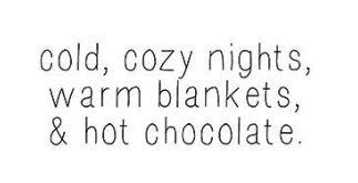 cold cozy night