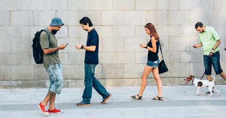 text walk