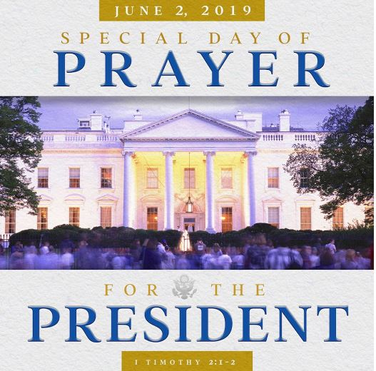 pray for trump day