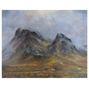 Glencoe oil painting