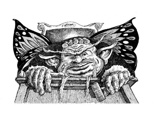 The judge illustration