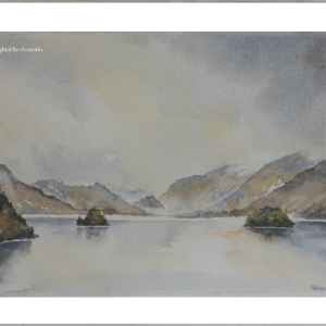 Derwentwater watercolour