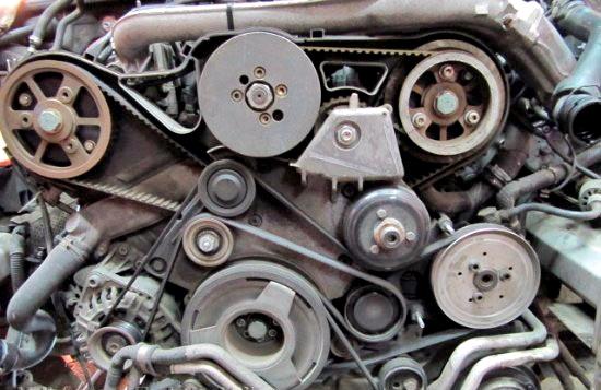 Замена ремней привода ГРМ и ТНВД на Audi A6 25 TDI V6