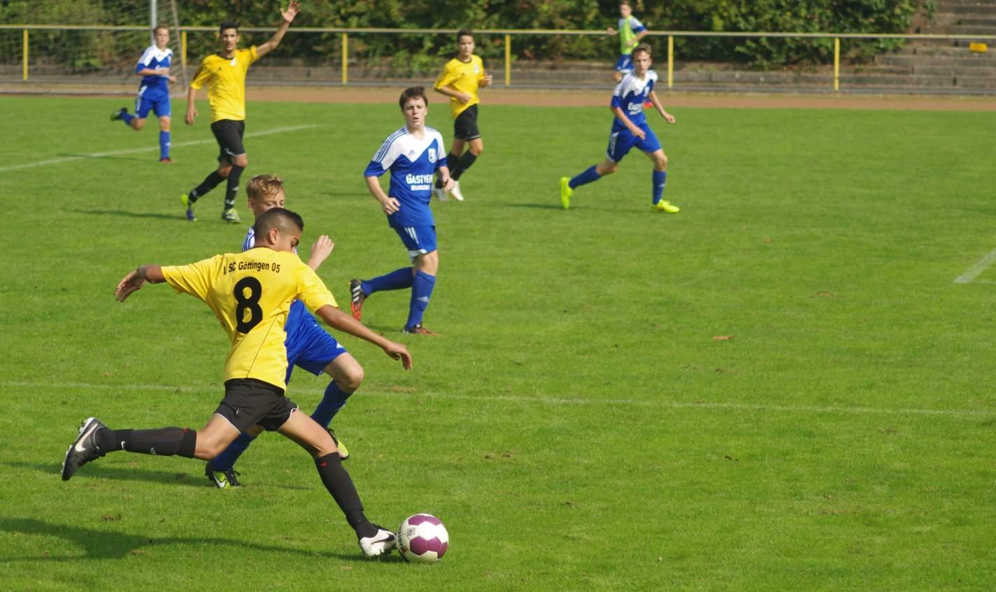 U15 vs FT Braunschweig 07