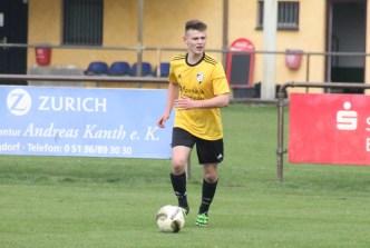 Thorben Buhre jetzt fest in der U19