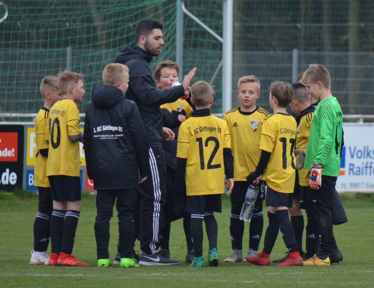 U11: spannendes Testspiel der E- Junioren im Südeichsfeld