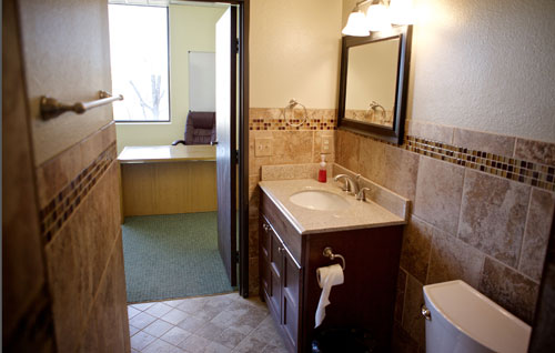 Executive Office Bathroom
