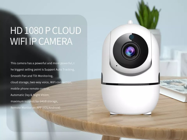 Loosafe Best Selling Small Mini Smart Home Security Camera 1080P CCTV IP Wireless Audible Alarm AI YCC365 App Wifi Camera