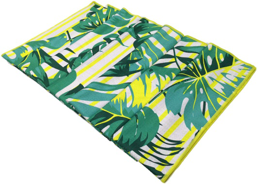 Custom Multi-purpose Printing High Quality Durable Microfiber Beach Towel With Personalized Logo