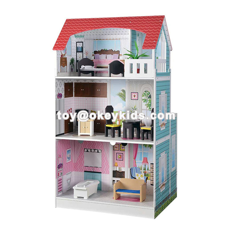 2020 new arrived wooden 2 in 1 kitchen dollhouse with on 52 Attractive Model Dollhouse Kitchen Sets id=95881