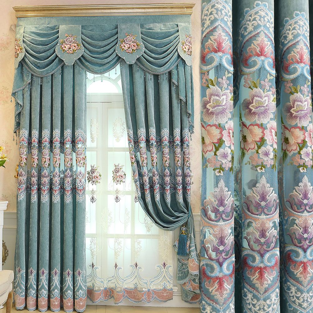 luxe design royale broderie fait