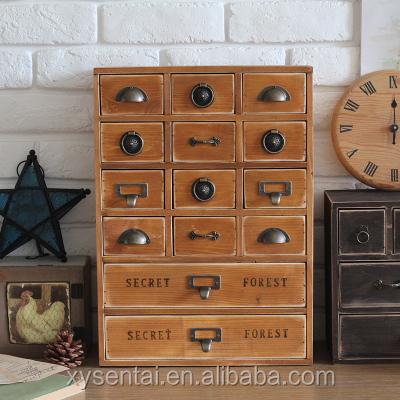 en gros pas cher en bois massif rustique bijoux vertical etroit tiroirs meuble de rangement buy grande armoire de rangement mince armoire a tiroirs