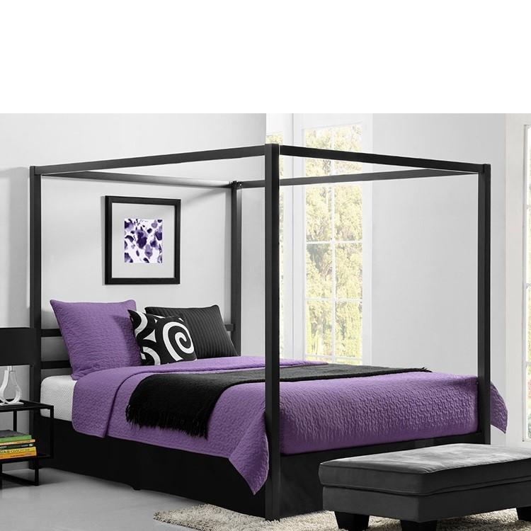 canopee lit avec rideaux cadre metallique robuste moderne design classique dhp livraison gratuite en chine buy lit a baldaquin reinvente au design