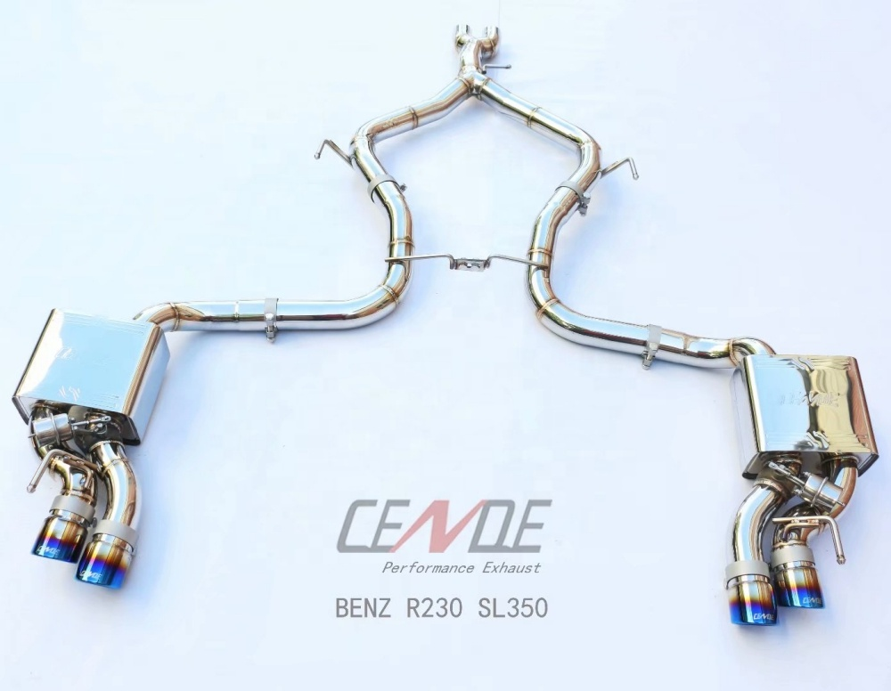 cende titanium exhaust valvetronin muffler exhaust system for mercedes bnez r230 nissan 350z buy for benz mercedes exhaust nissan 350z mercedes bnez