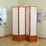 Cheap Folding Screen 5 Panels Brown Double Cross Wood Room Divider Buy Home Decoration Partition Furniture Wooden Folding Screen Room Divider Screen Panel Wooden Screen Room Divider Solid Shoji Wood Folding Privacy Screen